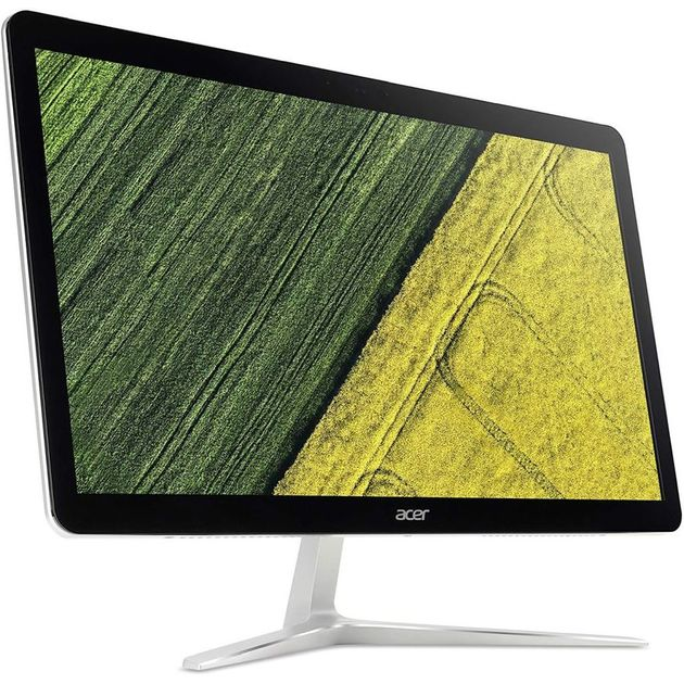 Моноблок Acer Aspire U27-885 27 Full HD Touch i7 8550u (1.8)/8Gb/1Tb 5.4k/Optane16Gb/UHDG 620/CR/Windows 10 Home/Eth/WiFi/BT/90W/клавиатура/мышь/черный/серебристый 1920x1080