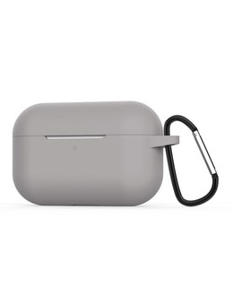 Чехол Devia silicone case для Apple AirPods Pro (Цвет: Gray)