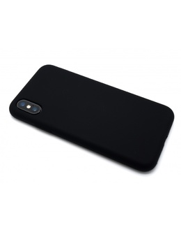 Накладка Devia Nature case Silicon Case iPhone X/XS (Цвет: Black)