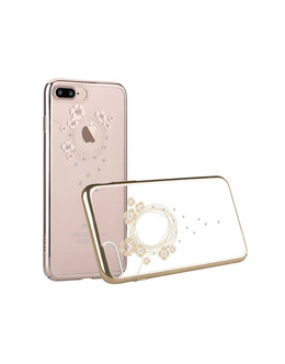 Чехол-накладка Devia Crystal Garland iPhone 7 Plus/8 Plus (Цвет: Champagne Gold)
