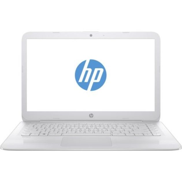 Ноутбук HP Stream 14-ax017ur Celeron N3060/4Gb/eMMC32Gb/Intel HD Graphics 400/14/HD (1366x768)/Windows 10 64/white/WiFi/BT/Cam