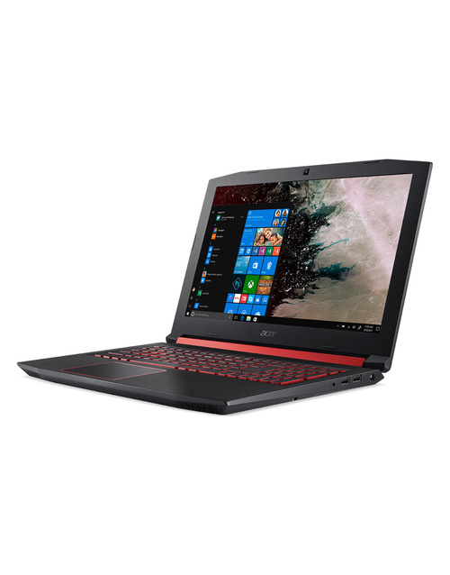 Ноутбук Acer Nitro 5 AN515-52-71GA Core i7 8750H / 8Gb / 1Tb / SSD128Gb / nVidia GeForce GTX 1050 4Gb / 15.6 / IPS / FHD (1920x1080) / Windows 10 Home / black / WiFi / BT / Cam