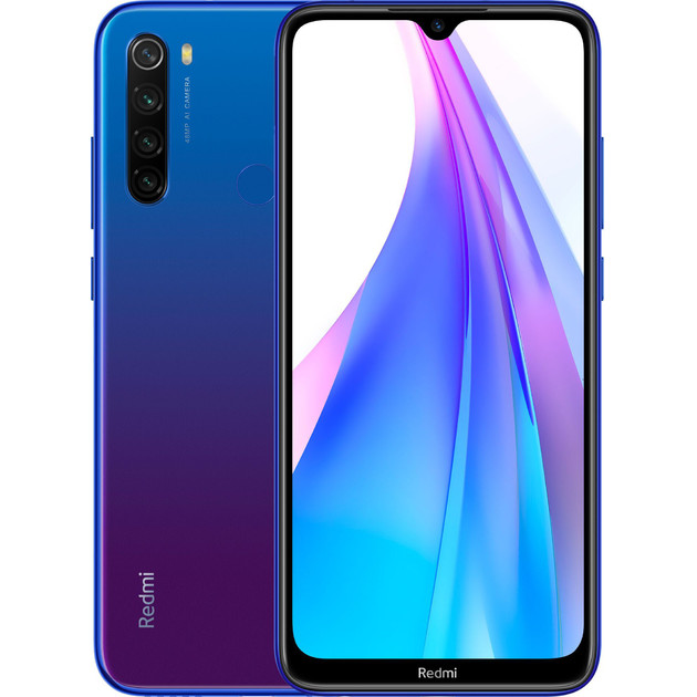 Смартфон Xiaomi Redmi Note 8T 4/128Gb RU (Цвет: Starscape Blue)
