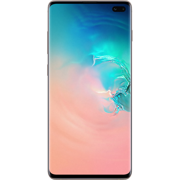Смартфон Samsung Galaxy S10+ 8/128Gb (Цвет: Ceramic White)