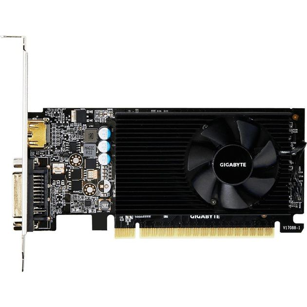 Видеокарта GIGABYTE GeForce GT 730 902Mhz PCI-E 2.0 2048Mb 5000Mhz 64 bit DVI HDMI HDCP Low Profile