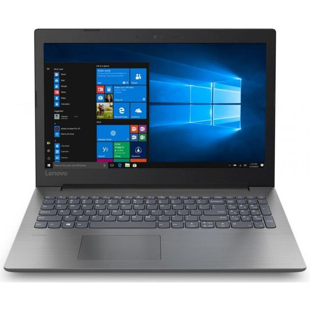 Ноутбук Lenovo IdeaPad 330-15IKBR Core i5 8250U/8Gb/1Tb/SSD128Gb/nVidia GeForce Mx150 2Gb/15.6/TN/FHD (1920x1080)/Free DOS/black/WiFi/BT/Cam
