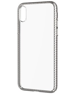 Накладка Devia Luxurious Glimmer case iPhone X/XS (Цвет: Silver)