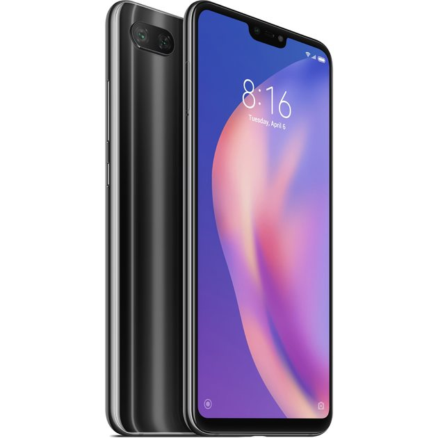 Смартфон Xiaomi Mi8 Lite 6/128Gb Global (Цвет: Midnight Black)
