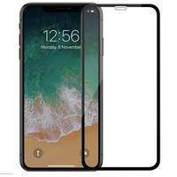 Защитная стеклопленка Devia Real Series 3D Screen Exsplosion-proof Glass iPhone Xs Max (Цвет: Black)