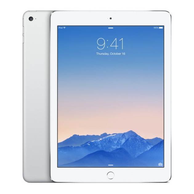 Планшет Apple iPad Air 2 128Gb Wi-Fi + Cellular (Цвет: Silver)