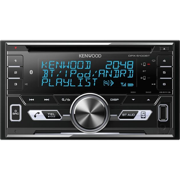 Автомагнитола CD Kenwood DPX-5100BT 2DIN 4x50Вт