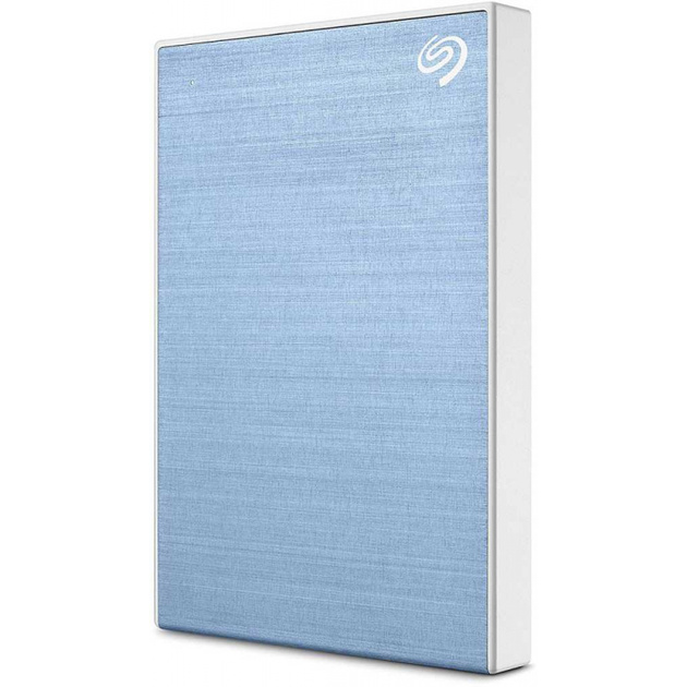 Внешний HDD Seagate Backup Plus Slim Portable Drive 2 ТБ (Цвет: Blue)