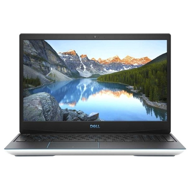 Ноутбук Dell G3 3500 Core i7 10750H/8Gb/SSD512Gb/NVIDIA GeForce GTX 1650 4Gb/15.6 WVA/FHD (1920x1080)/Linux/white/WiFi/BT/Cam