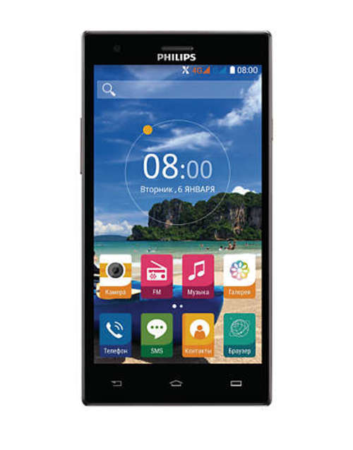 Смартфон Philips S616 16Gb (Цвет: Dark Gray)