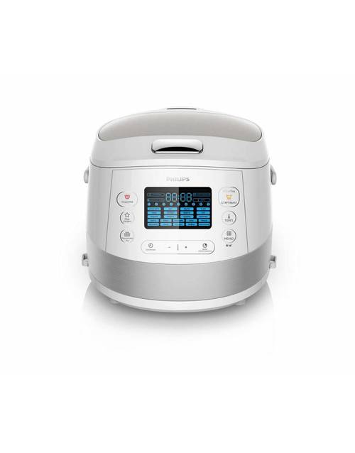 Мультиварка Philips Viva Collection HD4734 / 03 (Цвет: Inox / White)
