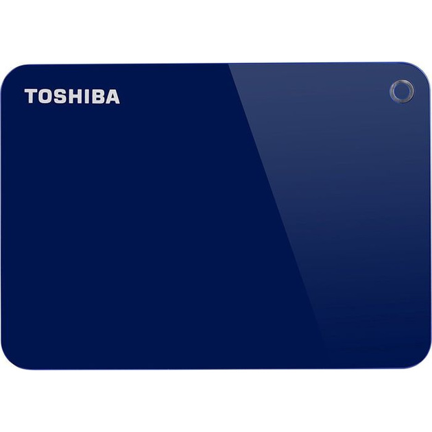 Жесткий диск Toshiba USB 3.0 1Tb HDTC910EL3AA Canvio Advance 2.5 (Цвет: Blue)
