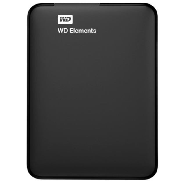 Внешний HDD Western Digital WD Elements Portable 4 ТБ (Цвет: Black)