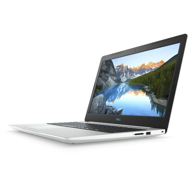 Ноутбук Dell G3 3579 Core i7 8750H/8Gb/1Tb/SSD128Gb/nVidia GeForce GTX 1050 Ti 4Gb/15.6/IPS/FHD (1920x1080)/Linux/white/WiFi/BT/Cam