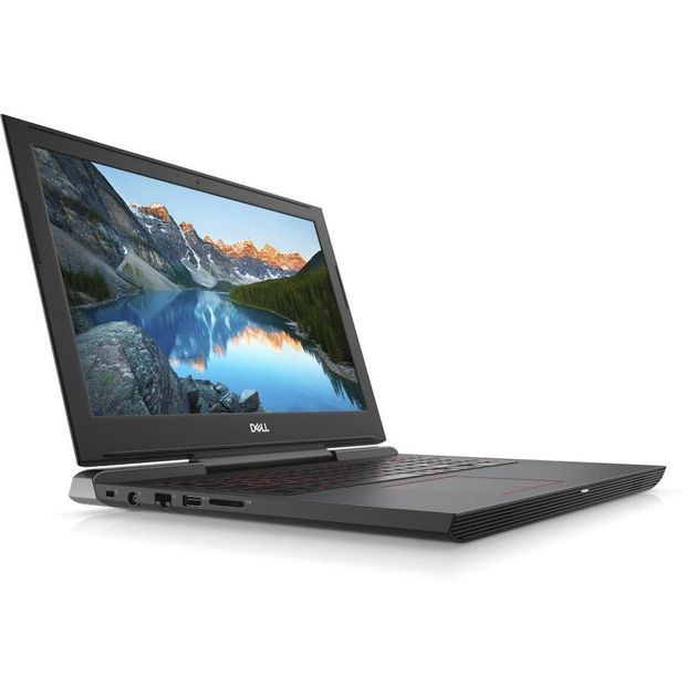 Ноутбук Dell G5 5587 Core i7 8750H/16Gb/1Tb/SSD128Gb/nVidia GeForce GTX 1060 6Gb/15.6/IPS/FHD (1920x1080)/Linux/red/WiFi/BT/Cam