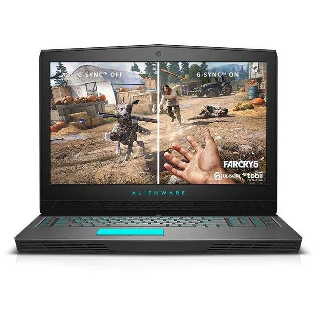Ноутбук Alienware 17 R5 Core i9 8950HK/32Gb/1Tb/SSD512Gb/nVidia GeForce GTX 1080 8Gb/17.3/IPS/UHD (3840x2160)/Windows 10 Home/silver/WiFi/BT/Cam