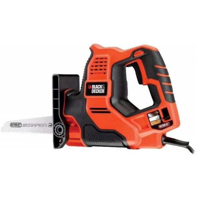 Сабельная пила Black & Decker RS890K-QS (Цвет: Orange)