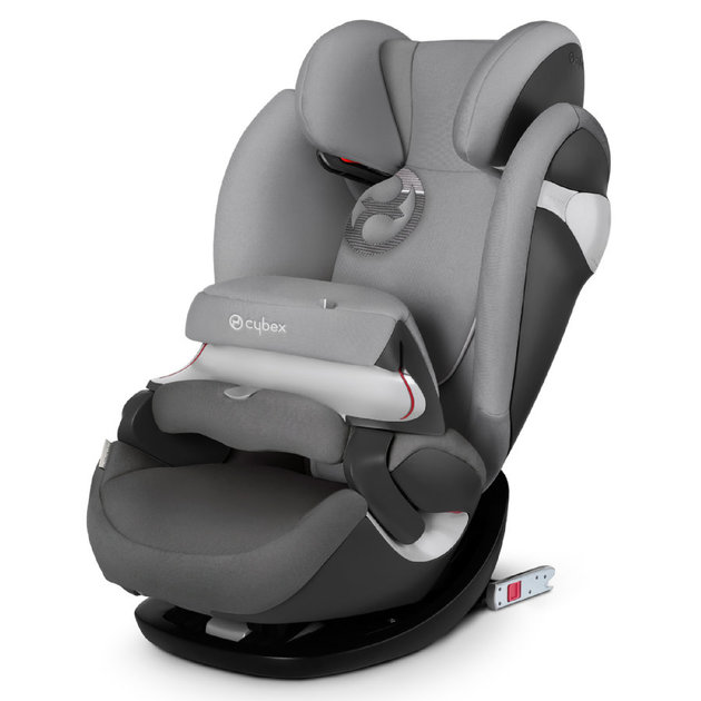Автокресло Cybex Pallas M-Fix (Цвет: Manhattan Grey-Mid Grey)