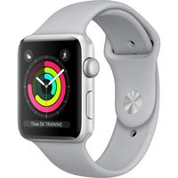 Умные часы Apple Watch Series 3 42mm Aluminum Case with Sport Band (Цвет: Silver/Fog)