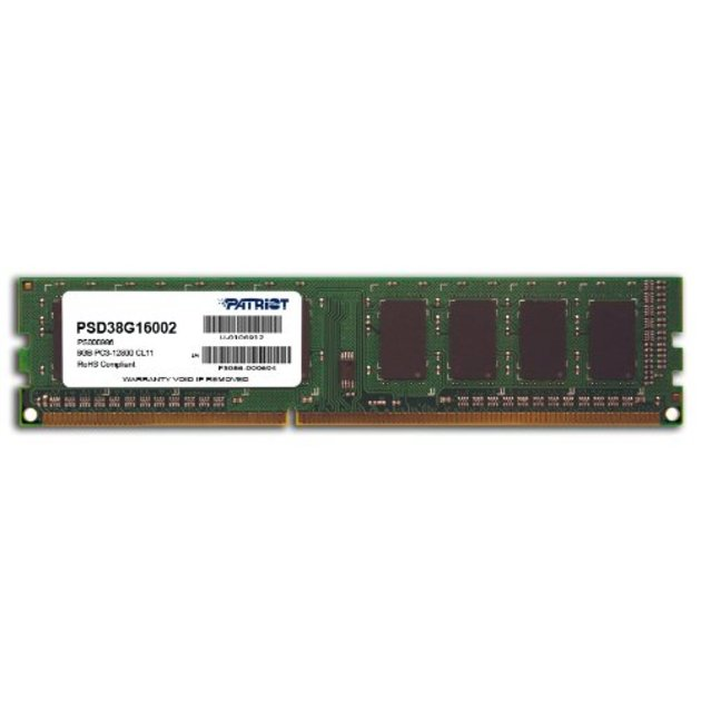 Память DDR3 8Gb 1600MHz Patriot PSD38G16002