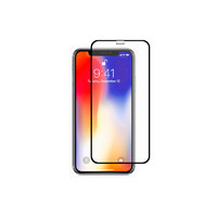 Защитная стеклопленка Devia Real Series 3D Screen Exsplosion-proof Tempered Glass iPhone XR (Цвет: Black)