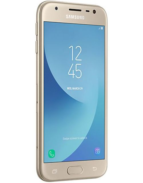 Смартфон Samsung Galaxy J3 (2017) SM-J330F/DS 16Gb (Цвет: Gold)