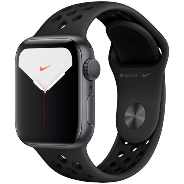 Умные часы Apple Watch Series 5 GPS 40mm Aluminum Case with Nike Sport Band (Цвет: Space Gray/Anthracite and Black)