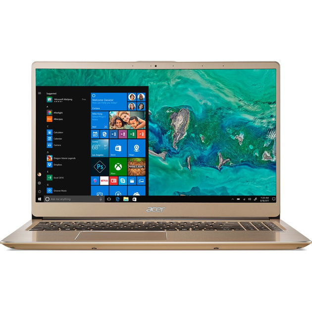 Ультрабук Acer Swift 3 SF315-52G-52B4 Core i5 8250U/8Gb/SSD256Gb/nVidia GeForce Mx150 2Gb/15.6/IPS/FHD (1920x1080)/Windows 10/gold/WiFi/BT/Cam