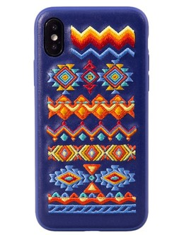 Накладка Devia Flower Embroidery Case iPhone X/XS (Цвет: Bohemian)