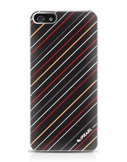 Чехол-накладка iPearl Shining Crystal Case iPhone 5/5s/SE multicolor stripe (Цвет: Multicolor)