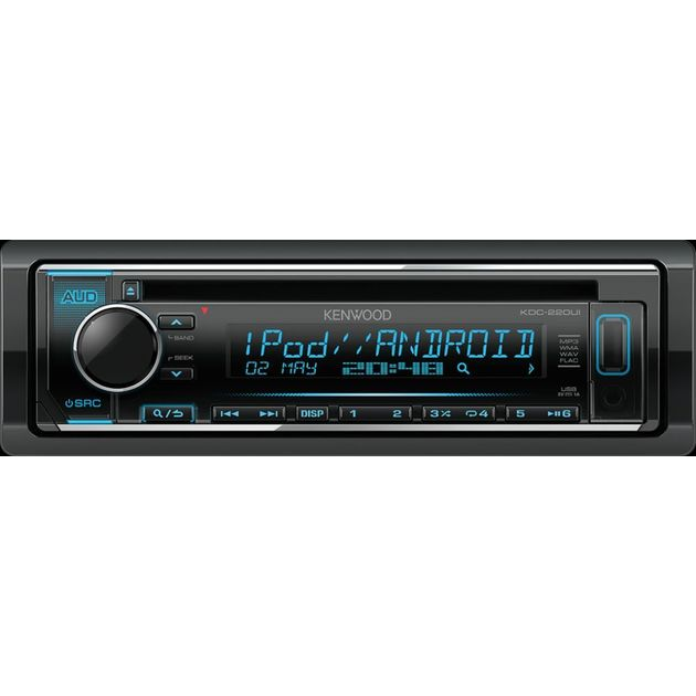 Автомагнитола CD Kenwood KDC-220UI 1DIN 4x50Вт