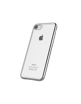 Чехол-накладка Devia Glitter Soft Case iPhone 7/8 (Цвет: Silver)