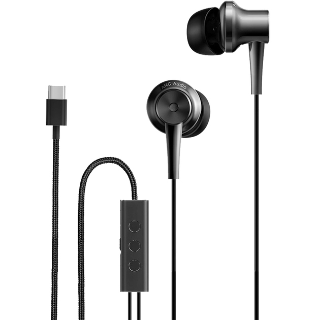 Наушники Xiaomi Mi ANC Type-C In-Ear Earphones (Цвет: Black)
