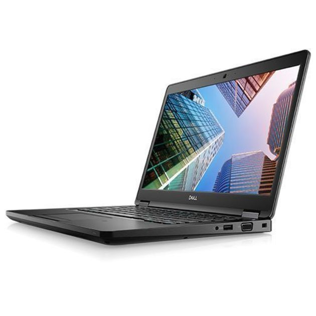 Ноутбук Dell Latitude 5490 Core i7 8650U/16Gb/SSD512Gb/Intel UHD Graphics 620/14/IPS/FHD (1920x1080)/Windows 10 Professional/black/WiFi/BT/Cam
