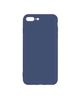 Чехол-накладка Pero Soft Touch для смартфона iPhone 7 Plus/8 Plus (Цвет: Blue)