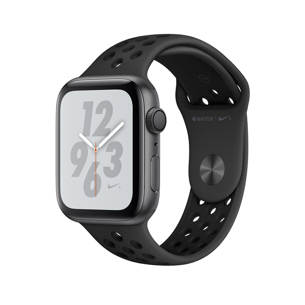 Умные часы Apple Watch Series 4 GPS 44mm Aluminum Case with Nike Sport Band (Цвет: Space Gray/Anthracite and Black)