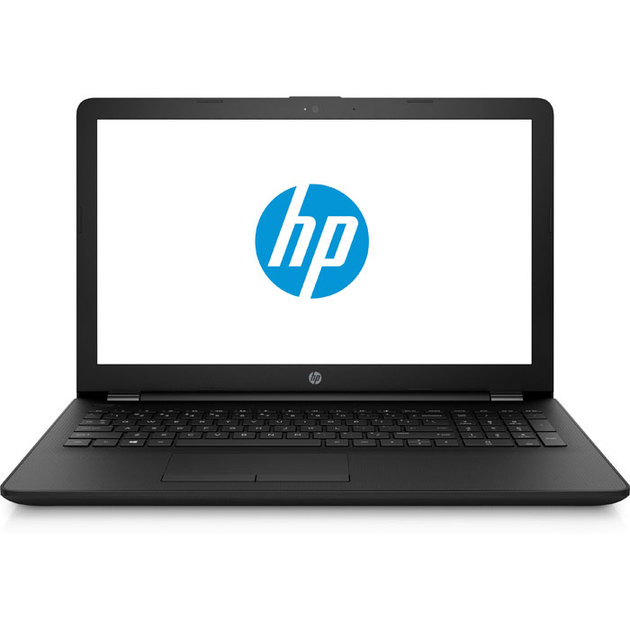Ноутбук HP15-rb004ur 15.6(1366x768)/AMD A4 9120(2.2Ghz)/4096Mb/128SSDGb/noDVD/Int:UMA - AMD Graphics/Cam/BT/WiFi/41WHr/war 1y/Jet Black/W10