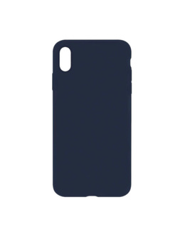 Накладка Devia Nature case Silicon Case iPhone X/XS (Цвет: Navy Blue)
