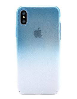 Накладка Devia Amber Case iPhone X/XS (Цвет: Blue)