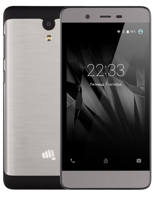 Смартфон Micromax Q4101 Bolt Warrior 1 Plus (Цвет: Black)
