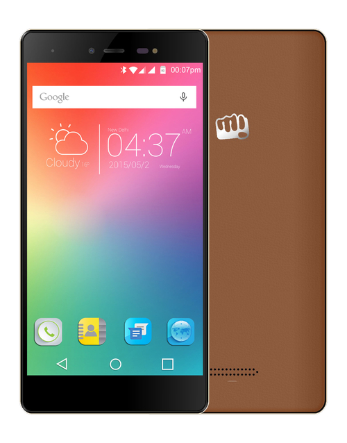 Смартфон Micromax E481 Canvas 5 (Цвет: Brown)