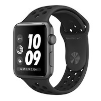 Умные часы Apple Watch Series 3 38mm Aluminum Case with Nike Sport Band (Цвет: Space Gray/Anthracite and Black)