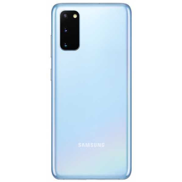 Смартфон Samsung Galaxy S20 SM-G980F/DS 8/128Gb (Цвет: Cloud Blue)