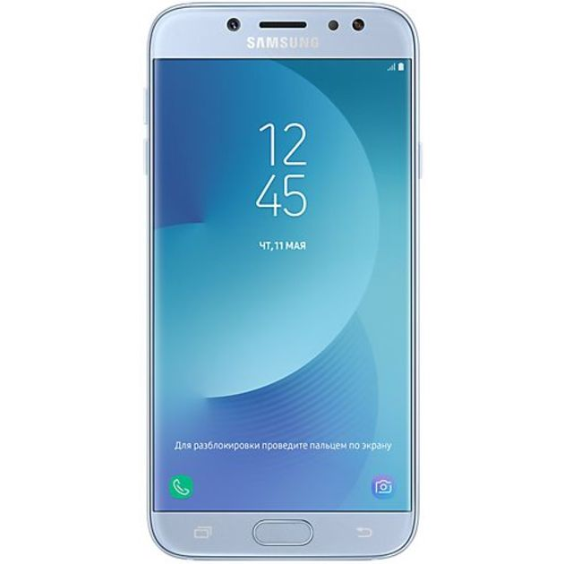 Смартфон Samsung Galaxy J7 (2017) SM-J730FM/DS 16Gb (Цвет: Blue)
