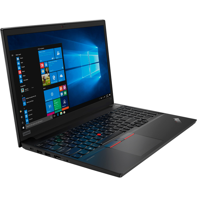 Ноутбук Lenovo ThinkPad E15-IML T Core i7 10510U/8Gb/SSD256Gb/Intel UHD Graphics/15.6/IPS/FHD (1920x1080)/Windows 10 Professional 64/black/WiFi/BT/Cam