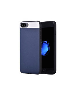 Чехол-накладка Comma Vivid Leather Case для смартфона iPhone 7 Plus/8 Plus (Цвет: Blue)